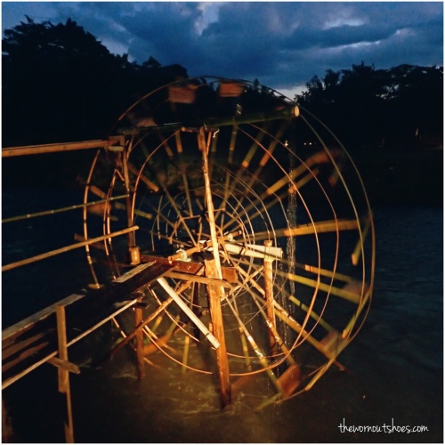 Pai water wheel